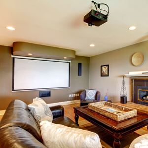Grand Rapids Media & Entertainment Room Remodeling